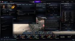 Новый интерфейс ангара для World of Tanks 0.9.17.1