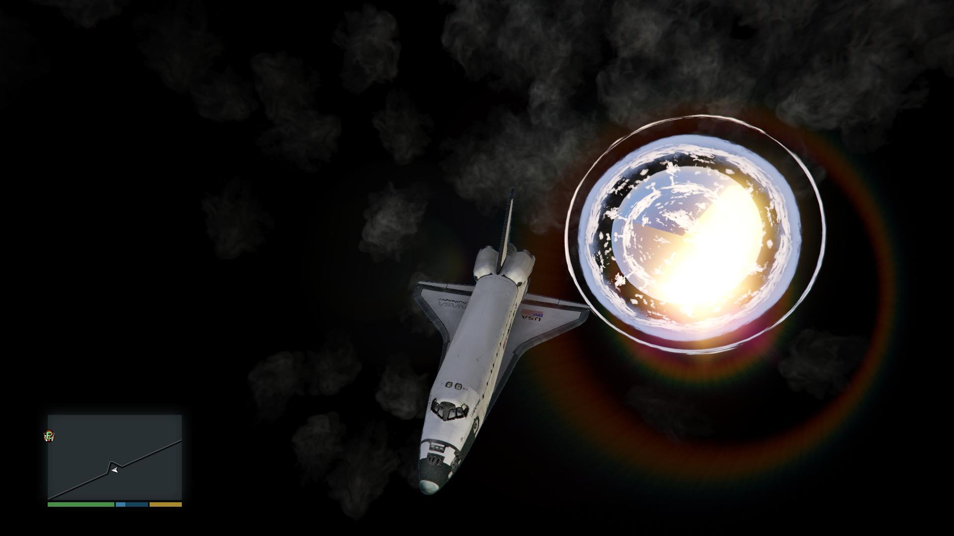 Мод NoBoundaryLimits для GTA 5 Space Mod v.1.1.1