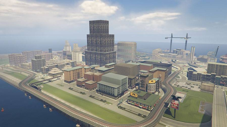 GTA 5: Liberty City (Portland)