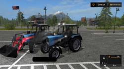 Трактор Belarus 82 PKU Harvest для FS 17