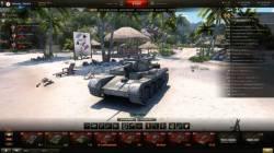 Ангар «Тихий пляж» для World of Tanks [0.9.21.0.3]