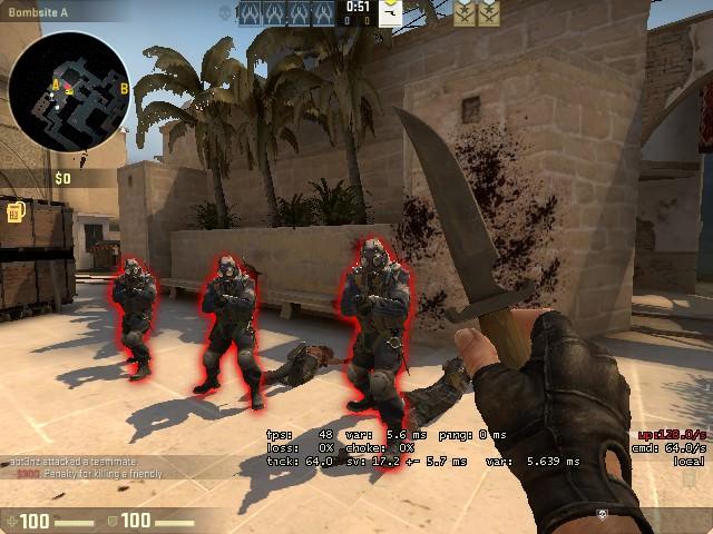 Читы для Counter-Strike GO фото